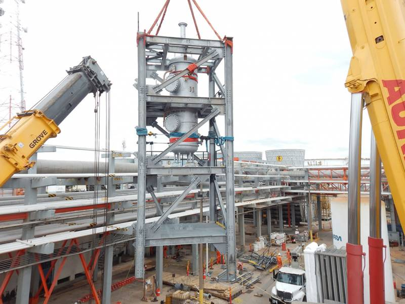 Rehabilitation CCR Unit – Citapia | Constructions industrielles